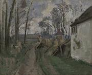 Village Road Near Auvers