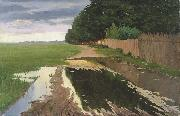 Paul Raud A Landscape oil painting reproduction