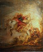 Bellerophon, Pegasus and Chimera, Peter Paul Rubens