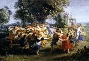 Dance of Italian Villagers, Peter Paul Rubens