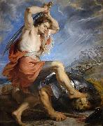 David Slaying Goliath, Peter Paul Rubens