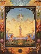 Philipp Otto Runge Morning oil painting reproduction