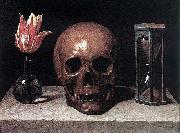 Still-Life with a Skull, Philippe de Champaigne