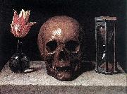 Still Life with a Skull, Philippe de Champaigne
