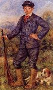 Portrait of Jean Renoir as a hunter, Pierre Auguste Renoir