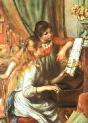 Girls at the Piano, Pierre Auguste Renoir