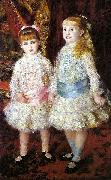 Pink and Blue, Pierre Auguste Renoir