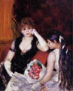 At the Concert a Box at the Opera, Pierre-Auguste Renoir