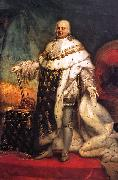 Pierre-Narcisse Guerin Portrait of Louis XVIII of France oil painting
