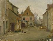 Pierre-edouard Frere Village street oil painting
