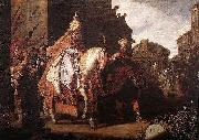 Pieter Lastman The Triumph of Mordechai oil painting