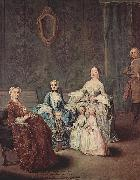 Pietro Longhi Portrait of the family Sagredo oil painting