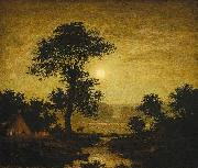Ralph Blakelock Moonlight oil painting reproduction