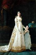 Queen of Naples with her daughter Zenaide Bonaparte
