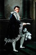Count Mollien in Napoleonic court costume
