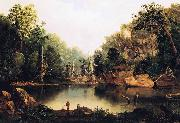 Robert S.Duncanson Little Miami River oil painting reproduction