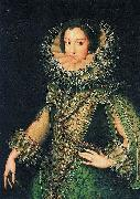 Rodrigo de Villandrando Portrait of an Unknown Lady oil painting