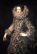 Rodrigo de Villandrando Isabel of France oil painting