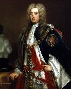 Sir Godfrey Kneller Portrait of Charles Townshend oil painting artist