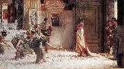 Sir Lawrence Alma-Tadema,OM.RA,RWS Caracalla Sir Lawrence Alma-Tadema oil painting
