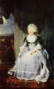 Sir Thomas Lawrence Portrait of Queen Charlotte oil painting on canvas