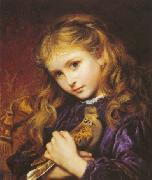 Sophie anderson The Turtle Dove oil painting