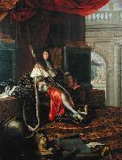 Testelin,Henri Portrait of Louis XIV of France oil painting