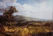 Theodore Fourmois Landscape in the Ardennes oil painting on canvas