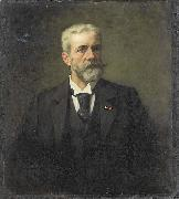 Therese Schwartze Frederik Daniel Otto Obreen oil painting