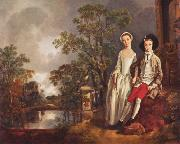 Heneage Lloyd and His Sister, Thomas Gainsborough