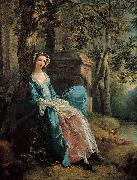 Thomas Gainsborough Portrait of a Woman oil painting reproduction