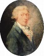 Thomas Gainsborough Self portrait oil painting reproduction