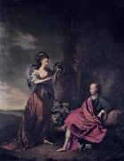 Thomas Hickey Arthur Wolfe, 1st Viscount Kilwarden and his wife Anne oil painting
