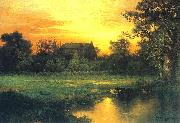 Thomas Moran Long Island oil painting reproduction