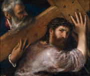 Titian Christ Carrying the Cross oil painting reproduction