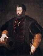 Titian Duke of Ferrara oil painting on canvas