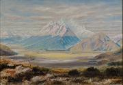 Tom Thomson Painting of Mount Earnslaw oil painting