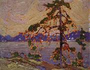Tom Thomson Oil sketch for The Jack Pine oil painting