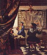 The Allegory of Painting -or- The Art of Painting, VERMEER VAN DELFT, Jan