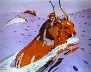 The Rape of Europe, Valentin Serov