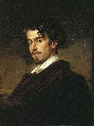 Valeriano Dominguez Becquer Bastida portrait of oil painting