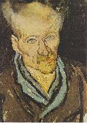 Portrait of a patient at the Hospital Saint-Paul, Vincent Van Gogh