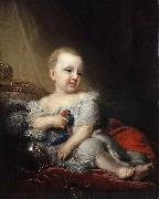 Vladimir Lukich Borovikovsky Portrait of Nicholas of Russia as a child oil painting