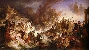 Wilhelm von Kaulbach Battle of Salamis oil painting
