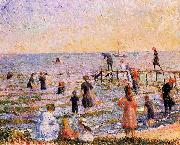 William Glackens Long Island oil painting reproduction