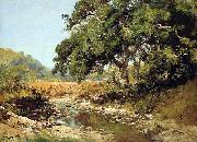 William Keith Stream Through the Valley oil painting