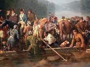 William Ranney Marion Crossing the Pee Dee oil painting