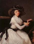 eisabeth Vige-Lebrun Portrait of Marie-Charlotte Bontemps oil painting artist