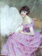 marie kroyer Jeune fille oil painting