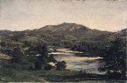 Study for Welch Mountain from West Compton